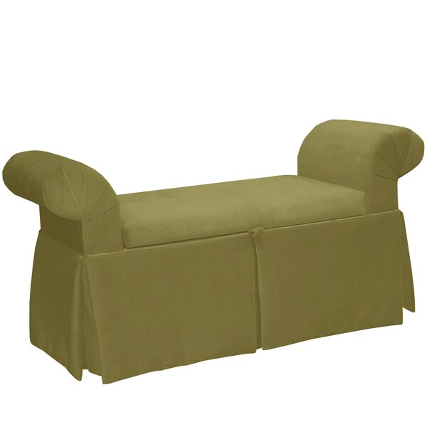 Premier Queen Anne Upholstered Storage Bench by Alcott Hill