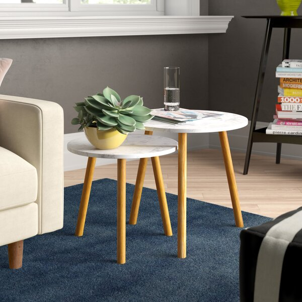 Chantay 2 Piece Nesting Tables By Zipcode Design
