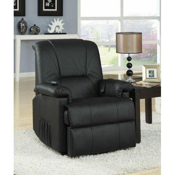 Hagar Reclining Massage Chair Red Barrel Studio W002338591
