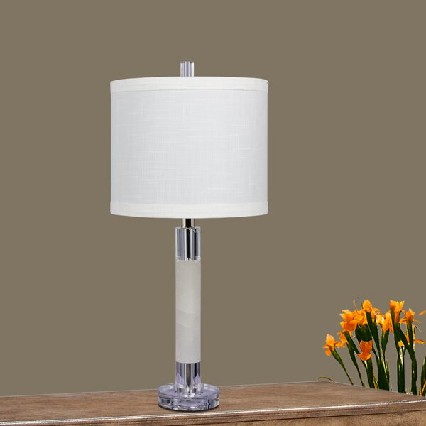 Powar Smooth Column 26 Table Lamp (Set of 2) by Orren Ellis