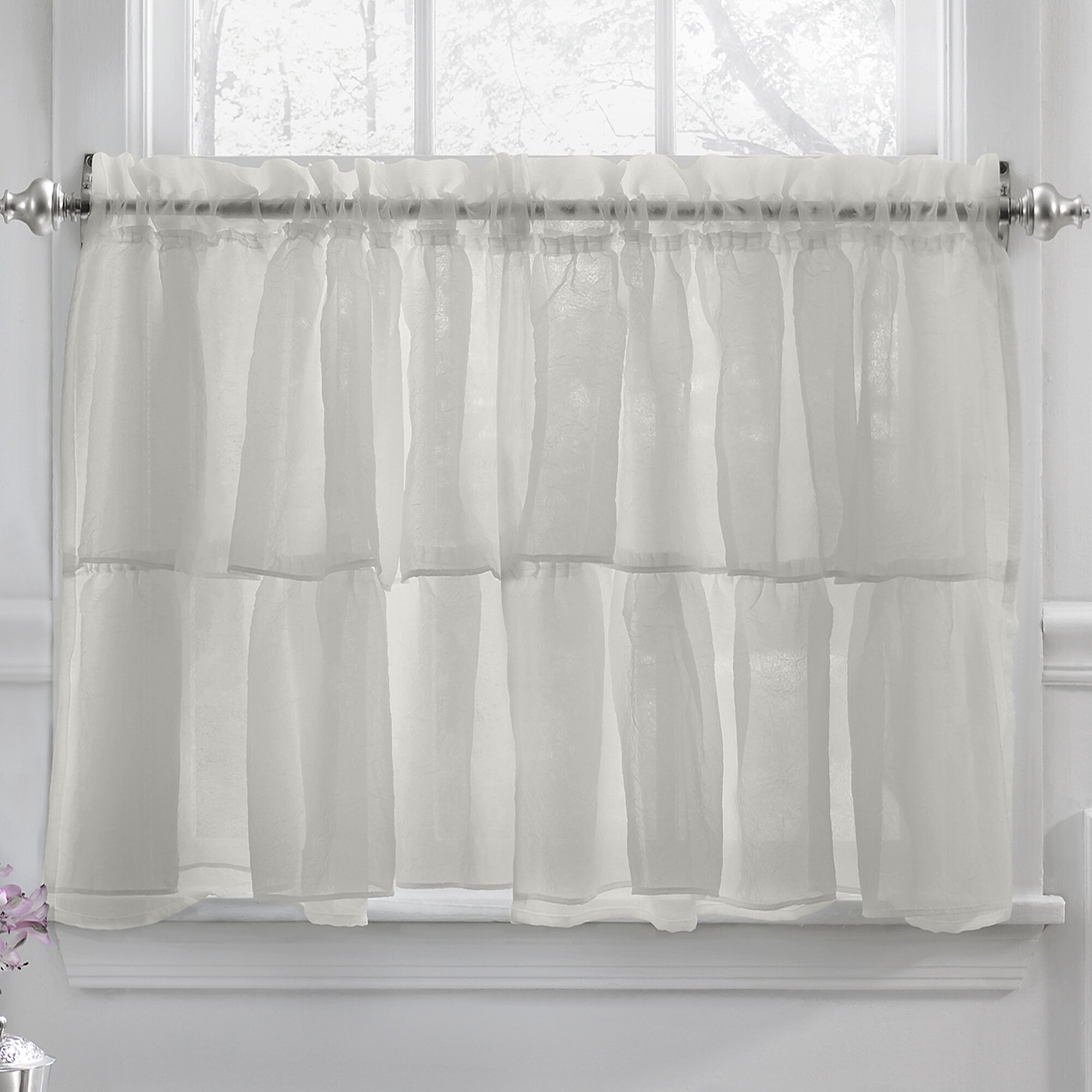 linen click curtains cream line pure zoom roll kensington over net from panel voile image to expand direct