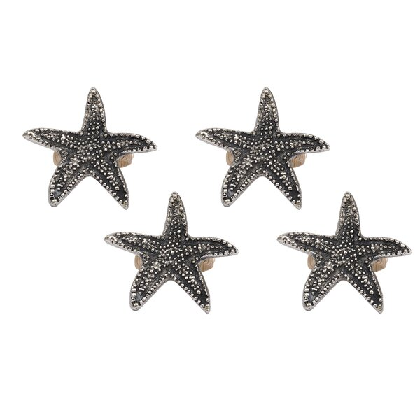 Starfish Napkin Ring (Set of 4) by Design Imports