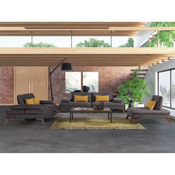 Bazemore 3 Piece Reclining Living Room Set By Corrigan Studio