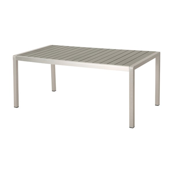 Kitty Outdoor Dining Table by Alcott Hill