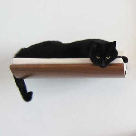 5 Musson Curve Wall Mounted Cat Perch by Tucker Murphy Pet