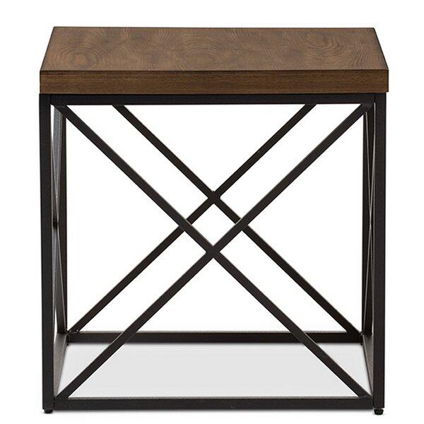 Trueman End Table by Union Rustic