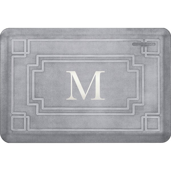 Wedgeworth Gatsby Monogrammed Premium Anti-Fatigue Mat