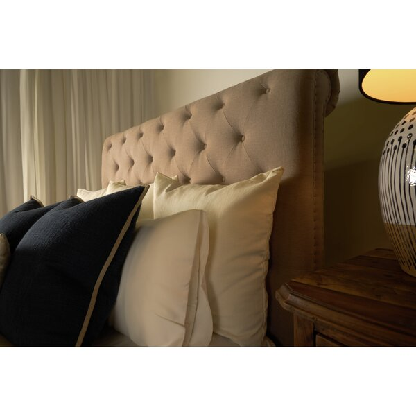 Patrick Upholstered Sleigh Bed by Canora Grey