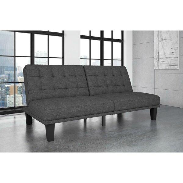 Haysi Futon Lounger Convertible Sofa by Wade Logan