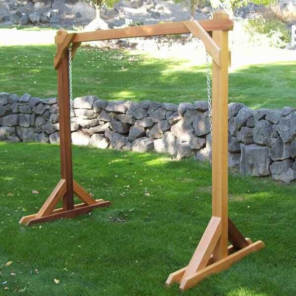 Bronaugh Basic Porch Swing Stand by August Grove