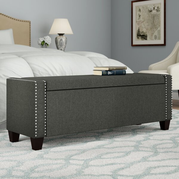Hemington Upholstered Storage Bench by Alcott Hill