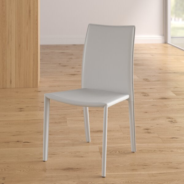 Meade Upholstered Dining Chair (Set of 4) by Wade Logan