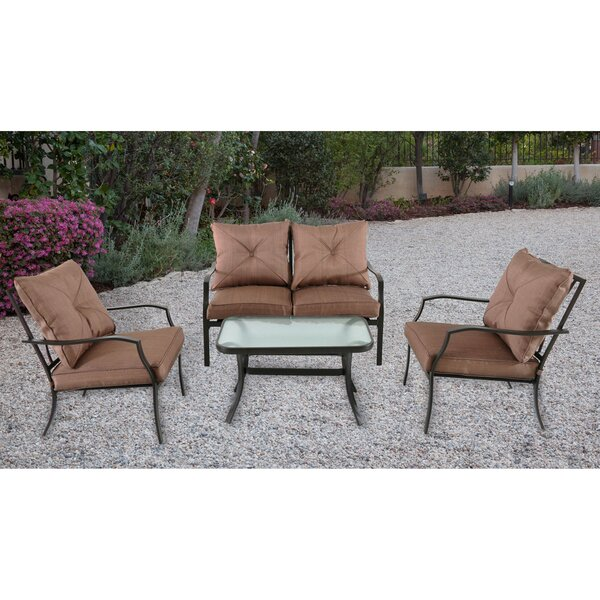 Keensburg 4 Piece Sofa Set with Cushion by Andover Mills