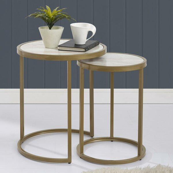 Selzer 2 Piece Nesting Tables by Mercer41