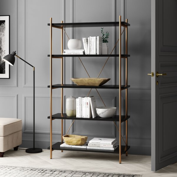 Carytown 5 Tier Etagere Bookcase by Greyleigh