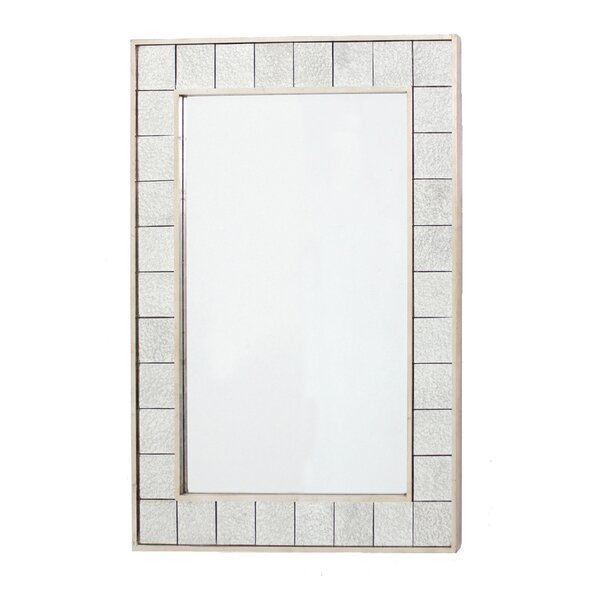 Lola Aged Tile Accent Mirror by Wildon Home ®