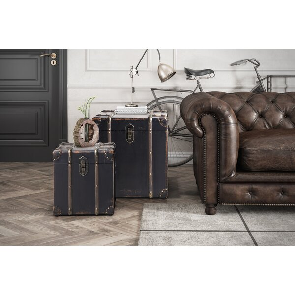 Loucas Trunk 2 Piece Nesting Tables By Charlton Home