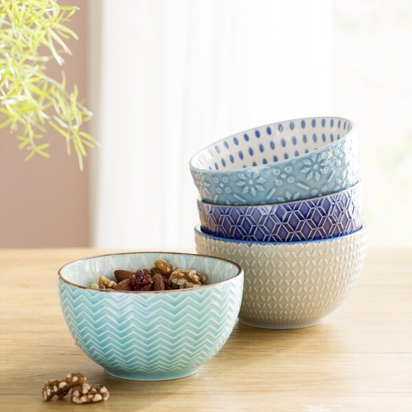 Williams 12 oz. 4 Piece Dining Bowl Set by Mint Pantry