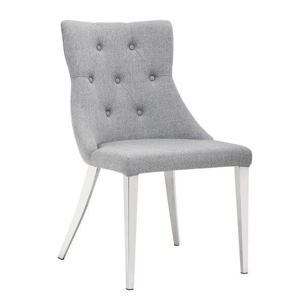 Merlino Chambers Upholstered Dining Chair (Set of 2) by Orren Ellis Orren Ellis