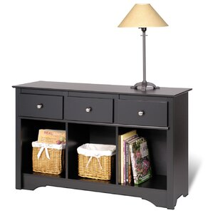 Sonoma Living Room Console Table by Prepac