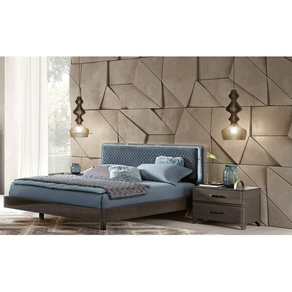 Dann Upholstered Platform Bed by Brayden Studio