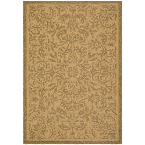 Short Light Natural Outdoor Rug by Winston Porter