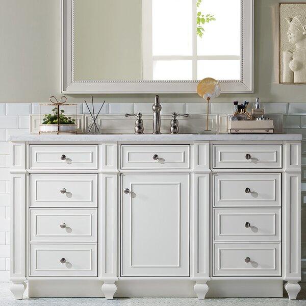 Discount lambrecht 60 single bathroom vanity set by alcott hill best price60 inch bathroom vanities for Discount bathroom vanity sets
