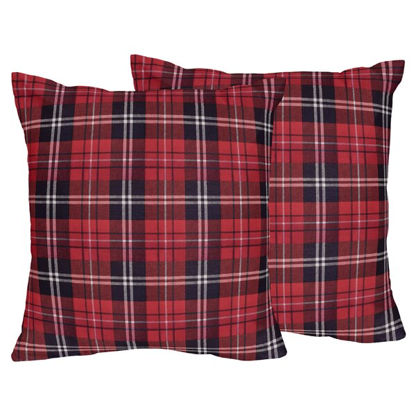 Rustic Patch Throw Pillow (Set of 2) by Sweet Jojo Designs
