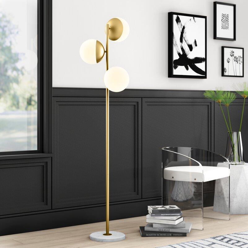 """Mercury Row Yearby 65.5"""" Tree Floor Lamp & Reviews"""
