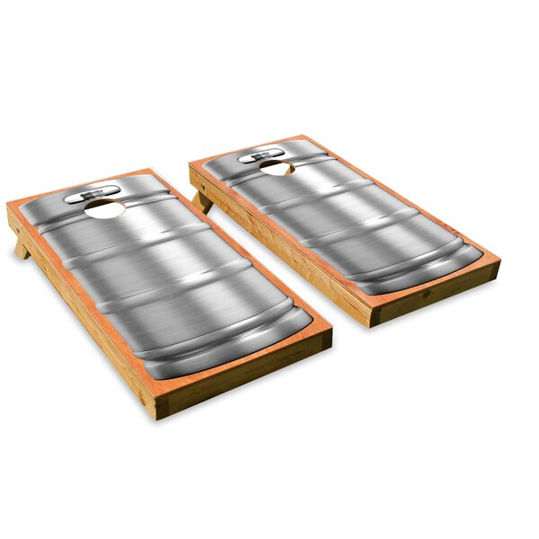 Bunghole Cornhole Board (Set of 2) by The Cornhole Crew