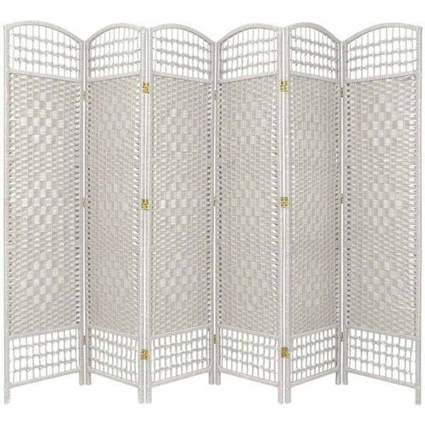 Stoffel 6 Panel Room Divider by Bay Isle Home