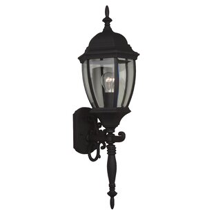 Comparison Oakhill 1-Light Traditional Outdoor Sconce By Charlton Home