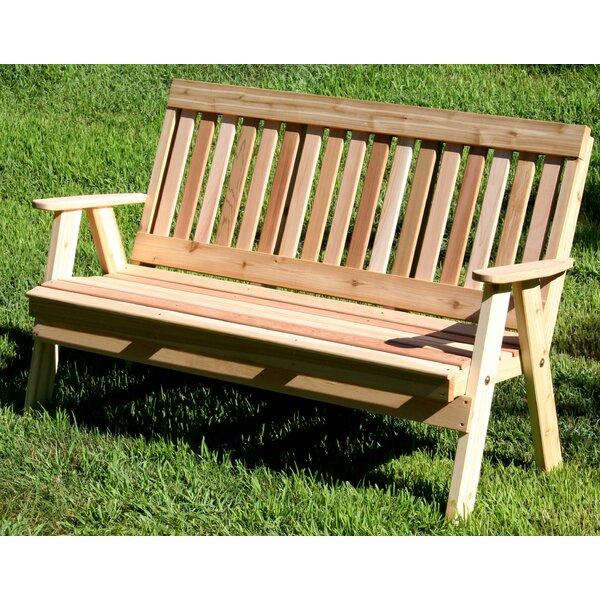 Cedar Benches Garden Bench by Creekvine Designs