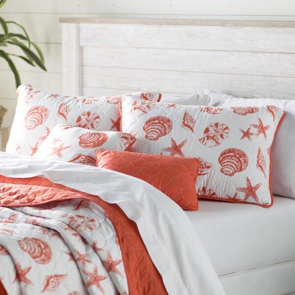 Glendive 4 Piece Reversible Quilt Set by Beachcrest Home