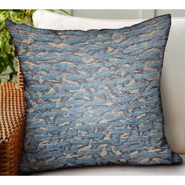Krueger Solid Luxury Indoor/Outdoor Throw Pillow
