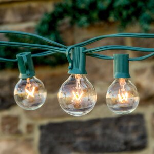 Ambience 25-Light 26 ft. Globe String Lights