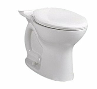 Cadet Pro Right Height Elongated Toilet Bowl by American Standard