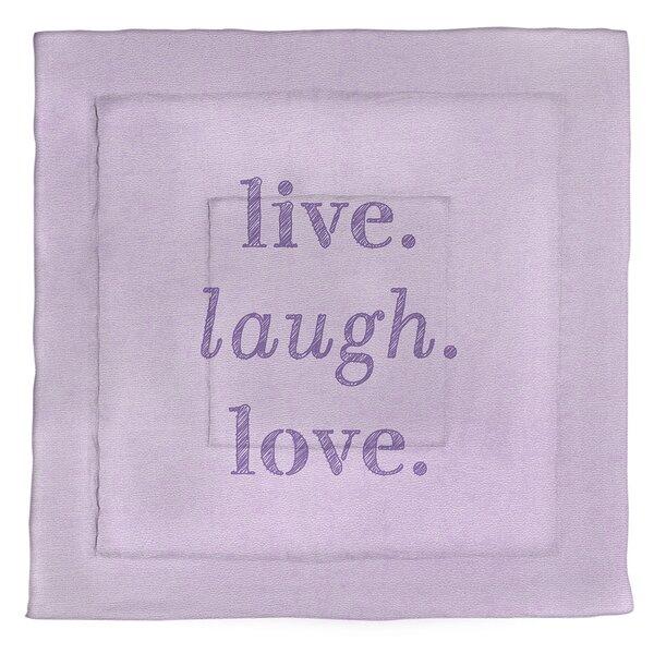 Live Laugh Love Single ReversibleComforter