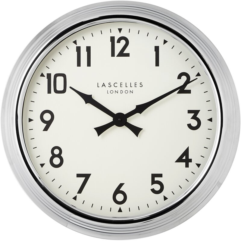 Roger Lascelles Clocks Große Wanduhr V & Bewertungen