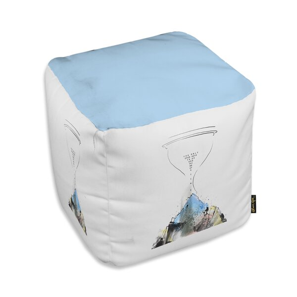Addison Mountain Cube Ottoman by Ebern Designs