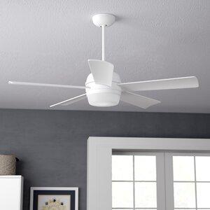 52″ Argelia 5 Blade LED Ceiling Fan