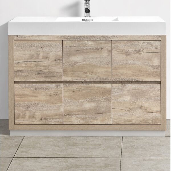 Malakai 48 Single Bathroom Vanity by Wade Logan