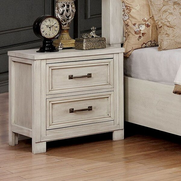 Riegel 2 Drawer Nightstand by Gracie Oaks