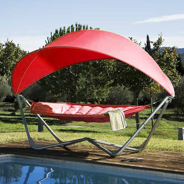 Iliana Backyard Hammock with Stand by Freeport Park