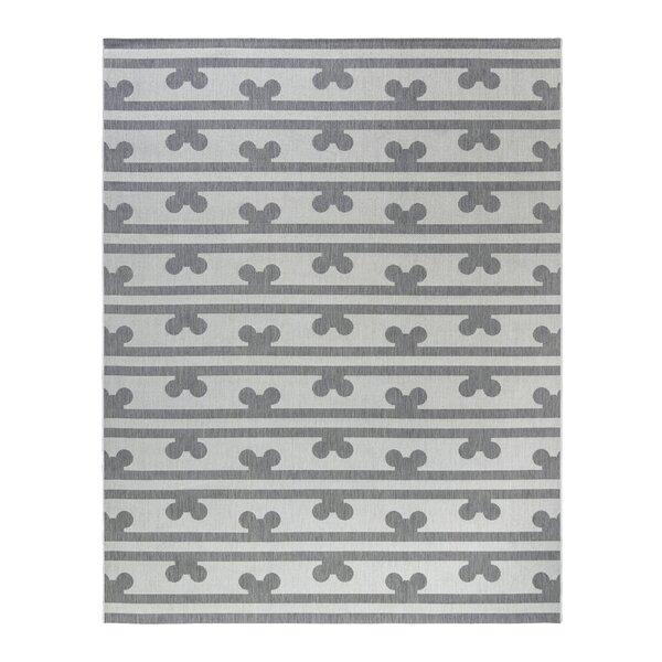 Flatweave Grey Indoor / Outdoor Area Rug