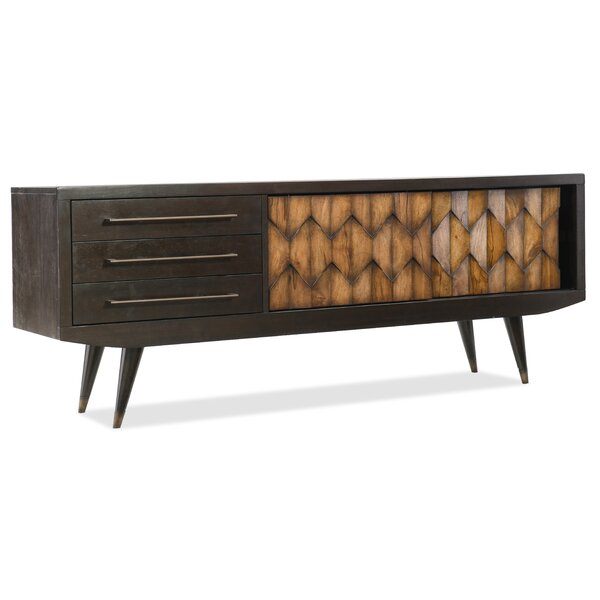 Savory Solid Wood TV Stand For TVs Up To 75