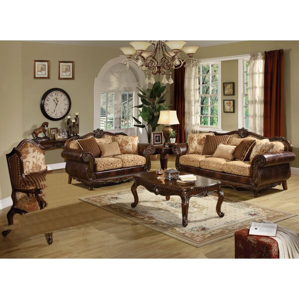 Rozier 3 Piece Living Room Set by Astoria Grand