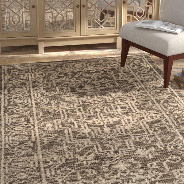 Maffei Hand-Woven Wool Brown/Beige Area Rug by Mistana