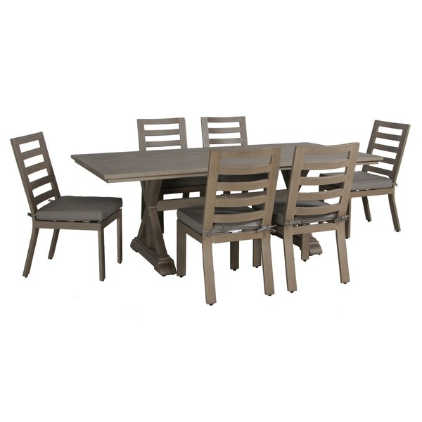 Potsdam 7 Piece Dining Set by Gracie Oaks
