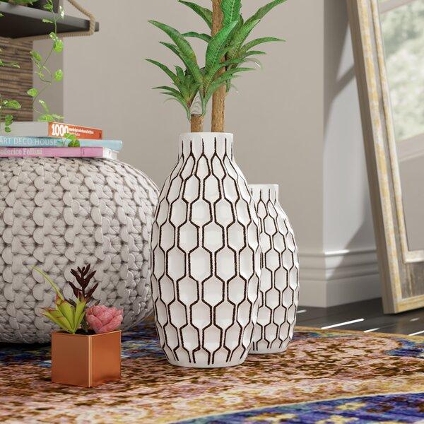 Shriver 2 Piece Table Vase Set by Bungalow Rose
